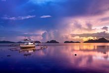 Sunset In El Nido, Palawan - P...