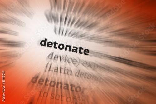 Valokuva  Detonate