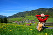 Leinwandbild Motiv Wandern, Urlaub, Berge, Rast