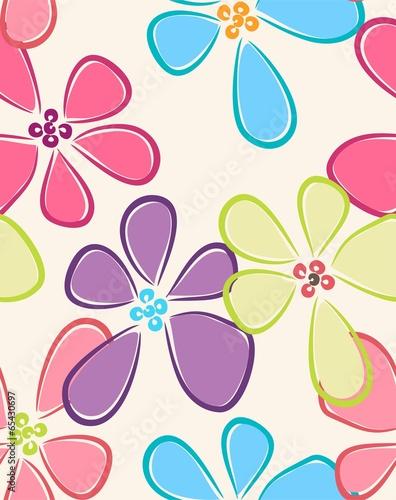 bez-szwu-kolorowy-kwiatki