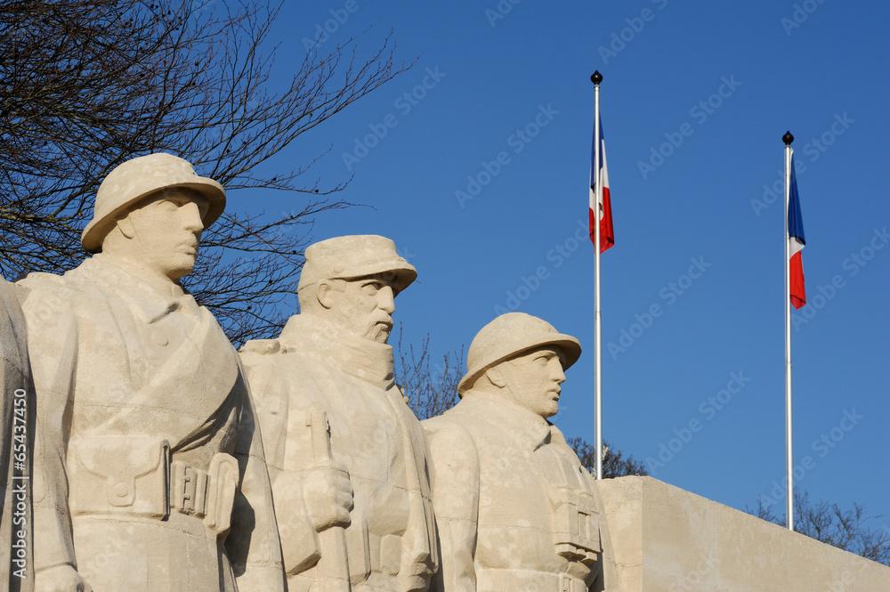 Fototapeta Verdun, Monument première guerre mondiale aux enfants de Verdun