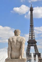Fototapeta na wymiar Trocadéro