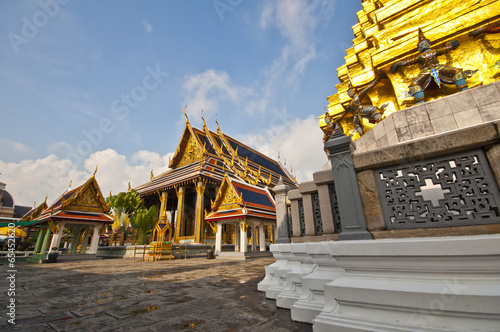 Deurstickers Bedehuis The grand palace of Thailand.