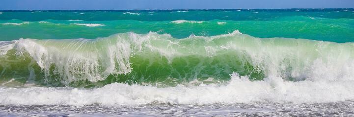 Panel Szklany PodświetlaneМорская волна