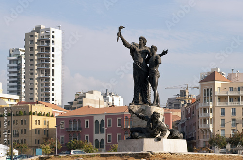 Fotografia Beirut Zentrum