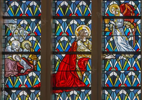 leuven-modlitwa-jezusa-w-ogrodzie-getsemani-szyba