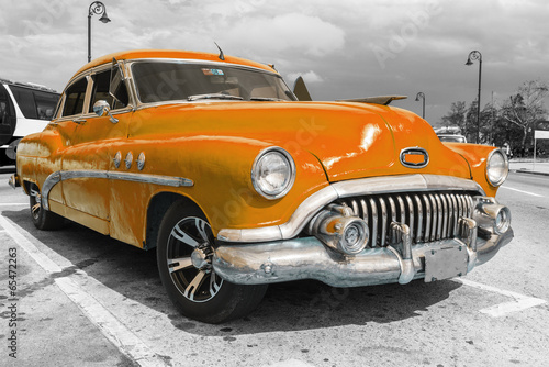 Spoed Foto op Canvas Vintage cars Car