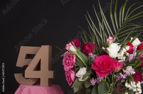 Fotografia  Happy birthday with roses
