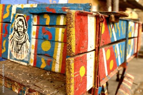 Fotografia Colored cart-Saint Louis du Senegal