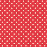 Seamless background of polka dot pattern