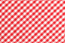 Checkered Table Cloth