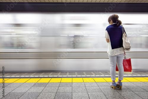 Plakat Tokio U-Bahn