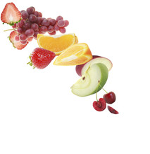 Various Type Of Fruit Slices S...