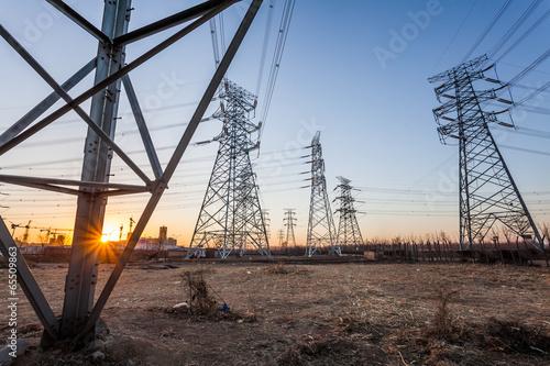 Valokuva  Electric tower