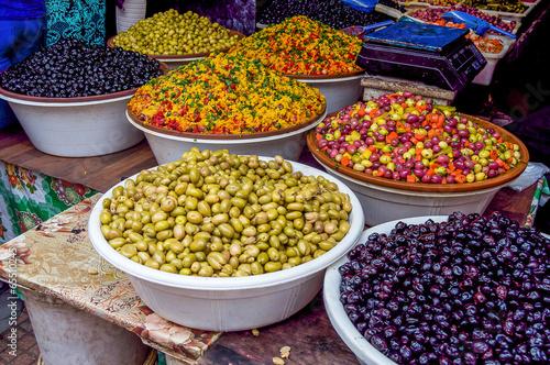 Staande foto Afrika olives