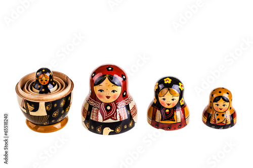 Photo Russian dolls