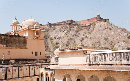 Papiers peints Fortification fort amber in india - rajasthan - jaipur