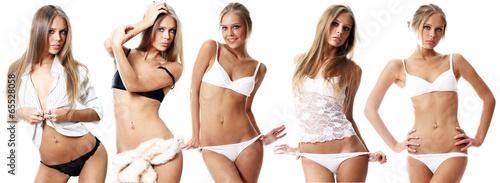Obraz snap models - fototapety do salonu