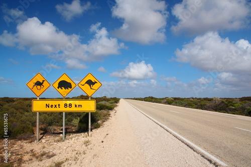 Poster Oceanië Australian outback