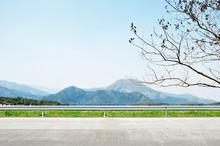Beautiful Mountain Scenery - Roadside View