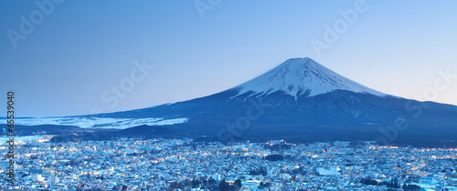 Photo sur Toile Japon Mount Fuji, japan