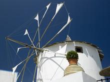 Windmill - Santorini - Greek Islands