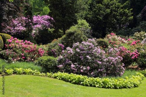 Staande foto Tuin Garden