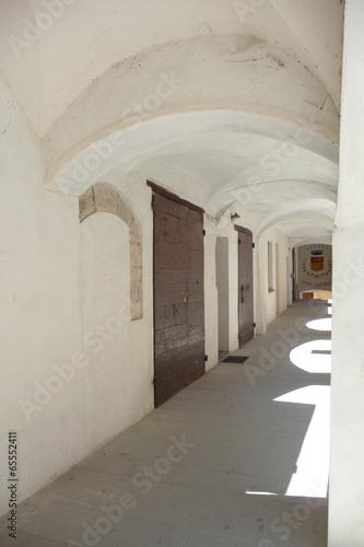 Fototapety, obrazy: Ancient medieval porch