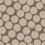 Abstract seamless polka dot pattern