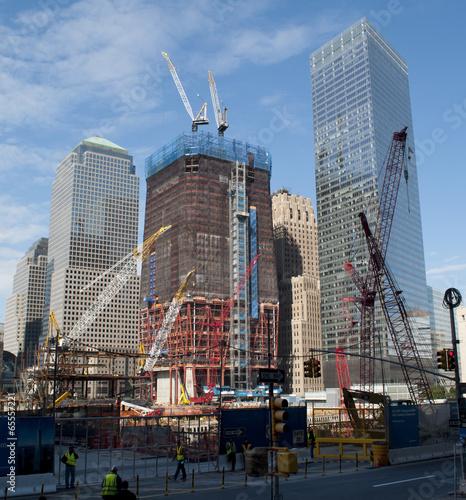 9/11 World Trade Center New York Rebuilding Construction 1 Poster