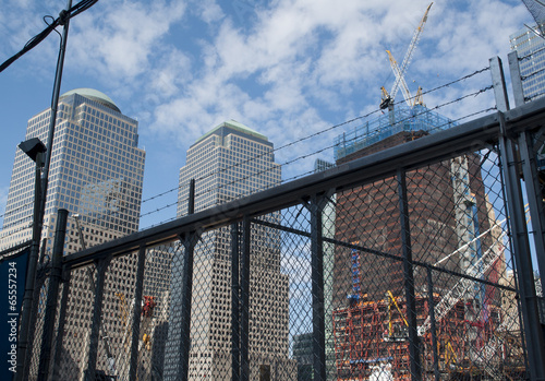 9/11 World Trade Center New York Rebuilding Construction 4 Plakat