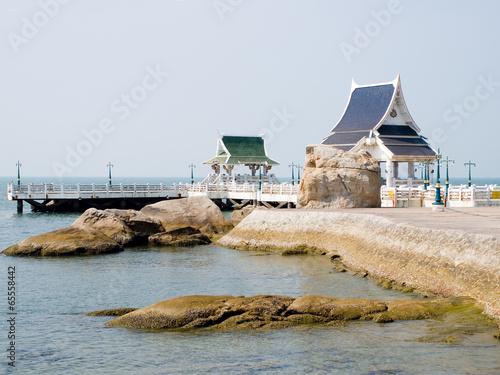 Fotografie, Obraz  Pavilions at Laem Tan