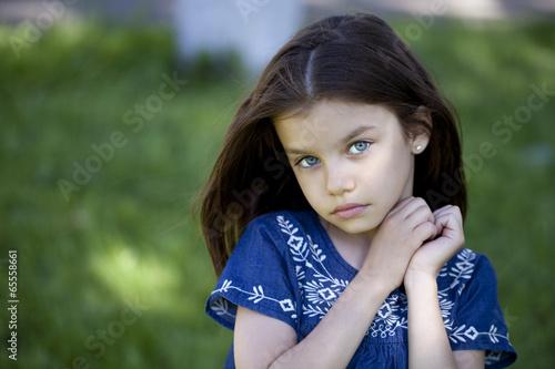 Fotografia  Portrait of beautiful little girl