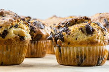 Delicious Chocolate Chip Muffins