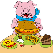 Hungry Pig
