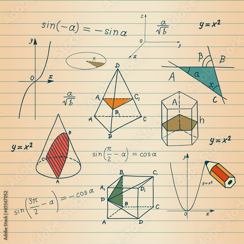 matematyka-szkice-geometryczne-ksztalty-i-wyrazenia