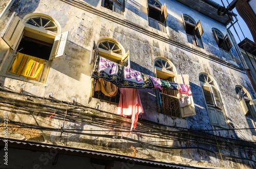 Poster Zanzibar Stone Town Laundry