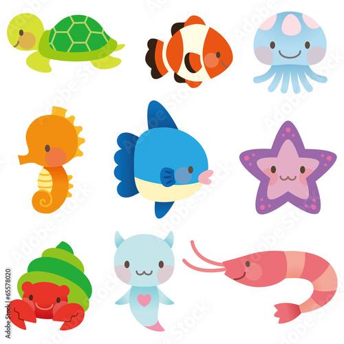 Photo  海 海の仲間 セット