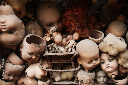 Canvas Print Dolls