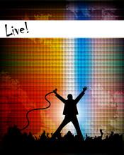 Illustration Of Singer Perform...