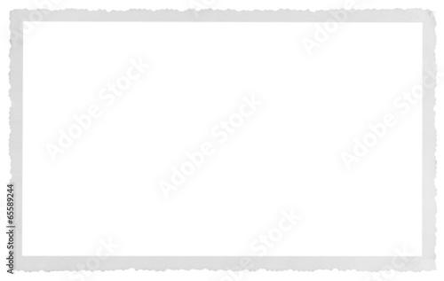 Fototapeta  bordure carte postale ancienne dentelée