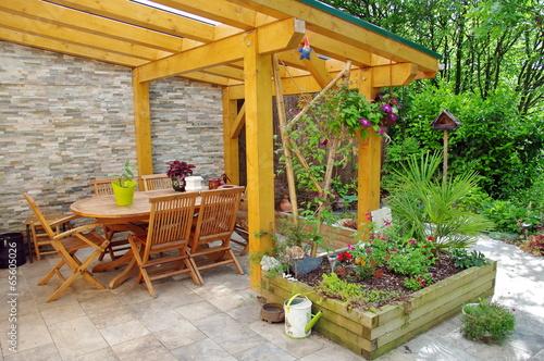 Fotografia  terrasse de maison
