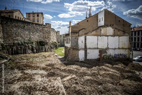 Foto op Plexiglas Arctica Casa ruina