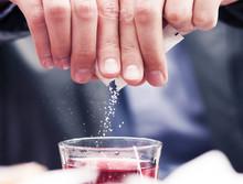 Falling Sugar Particles
