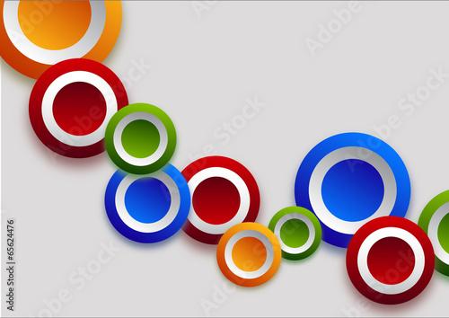 Different  color circles