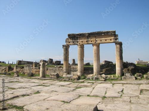 Staande foto Algerije Hierapolis Ancient City, Denizli