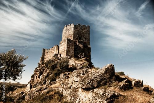 Castelo de Algoso Wallpaper Mural