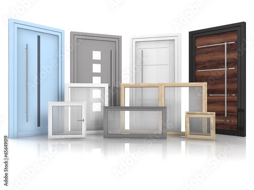 Fotografie, Tablou  Türen und Fenster