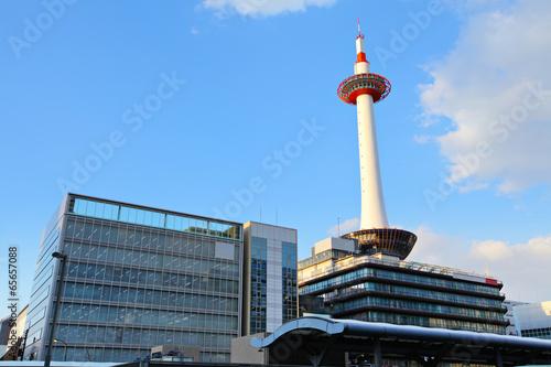 Foto auf Acrylglas Kyoto Kyoto skyling in Japan