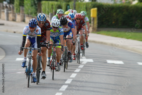 In de dag Fietsen course cyclisme